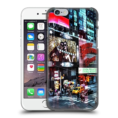 Official Haroulita Places Time Square Hard Back Case For Apple Iphone 6 / 6S