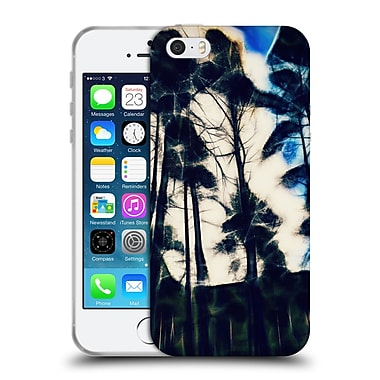 Official Haroulita Abstract Trees 2 Soft Gel Case For Apple Iphone 5 / 5S / Se