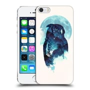 Official Robert Farkas Animals Midnight Owl Hard Back Case For Apple Iphone 5 / 5S / Se