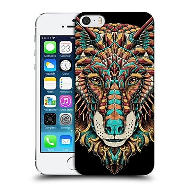 Official Bioworkz Coloured Animal Head 1 Wolf Head 2 Hard Back Case For Apple Iphone 5 / 5S / Se