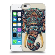 Official Bioworkz Coloured Animal Head 1 Ornate Elephant Hard Back Case For Apple Iphone 5 / 5S / Se
