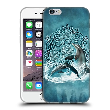 Official Brigid Ashwood Celtic Wisdom Dolphin Soft Gel Case For Apple Iphone 6 / 6S