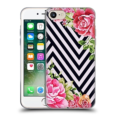 Official Mark Ashkenazi Florals Flower Geometric Soft Gel Case For Apple Iphone 7