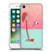 Official Mark Ashkenazi Flamingo Pink Soft Gel Case For Apple Iphone 7