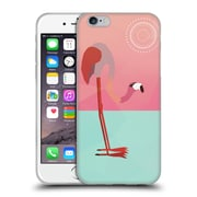 Official Mark Ashkenazi Flamingo Pink Soft Gel Case For Apple Iphone 6 / 6S