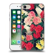 Official Mark Ashkenazi Florals Flowers And Wings Soft Gel Case For Apple Iphone 7