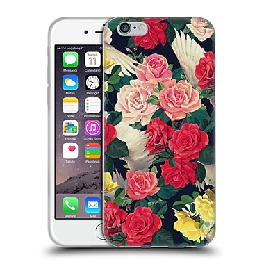Official Mark Ashkenazi Florals Flowers And Wings Soft Gel Case For Apple Iphone 6 / 6S