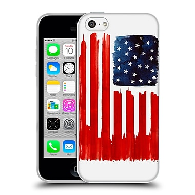 Official Robert Farkas Patterns Stars And Buildings Soft Gel Case For Apple Iphone 5C
