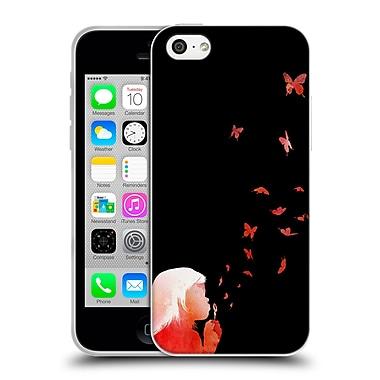 Official Robert Farkas People Blowing Butterflies Soft Gel Case For Apple Iphone 5C