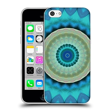 Official Haroulita Mandala Feathers Soft Gel Case For Apple Iphone 5C