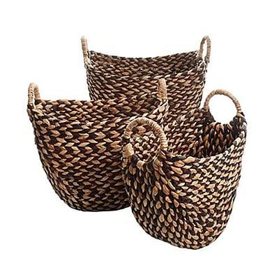 Gibson Bachman 3 Set Basket, Brown (111011.03)