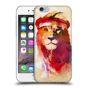 Official Robert Farkas Animals Gym Lion Soft Gel Case For Apple Iphone 6 / 6S