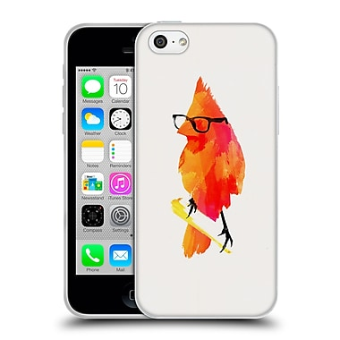Official Robert Farkas Hipster Animals Punk Bird Soft Gel Case For Apple Iphone 5C