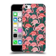 Official Mark Ashkenazi Flamingo Tropic Soft Gel Case For Apple Iphone 5C