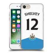 Official Newcastle United Fc Nufc 2015/16 Players Home Kit Jonjo Shelvey Soft Gel Case For Apple Iphone 7