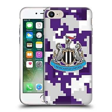 Official Newcastle United Fc Nufc 2016/17 Crest Kit Digital Camo Third Colours Soft Gel Case For Apple Iphone 7