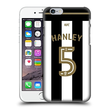 Official Newcastle United Fc Nufc 2016/17 Players Home Kit 1 Hanley Hard Back Case For Apple Iphone 6 / 6S