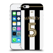 Official Newcastle United Fc Nufc 2016/17 Players Home Kit 1 Hanley Soft Gel Case For Apple Iphone 5 / 5S / Se