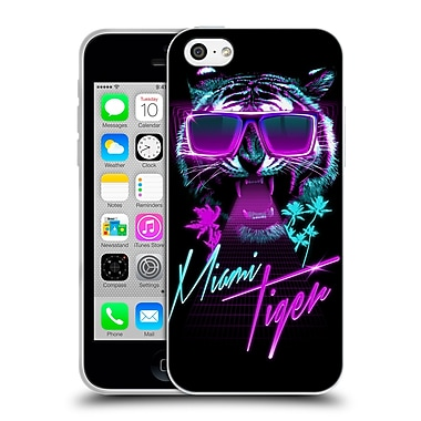 Official Robert Farkas Typography Miami Tiger Soft Gel Case For Apple Iphone 5C