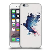 Official Robert Farkas Animals Bloody Crow Soft Gel Case For Apple Iphone 6 / 6S