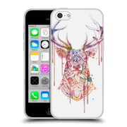 Official Bioworkz Coloured Animal Head 1 Ornate Buck 1 Soft Gel Case For Apple Iphone 5C
