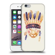 Official Robert Farkas Animals 2 Big Chief Soft Gel Case For Apple Iphone 6 / 6S