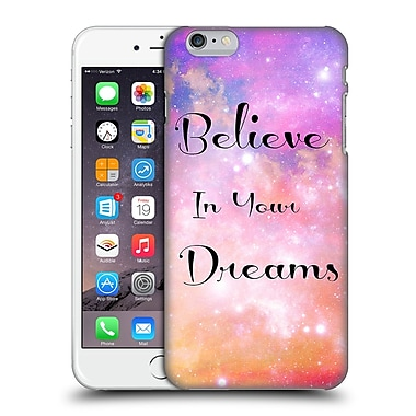 Official Haroulita Glitter Sparkle Believe Hard Back Case For Apple Iphone 6 Plus / 6S Plus