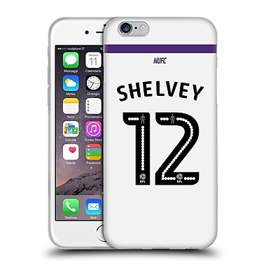 Official Newcastle United Fc Nufc 2016/17 Players Third Kit 1 Shelvey Soft Gel Case For Apple Iphone 6 / 6S