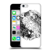 Official Bioworkz Ornate 3 Yin Yang Koi Hard Back Case For Apple Iphone 5C