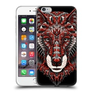 Official Bioworkz Coloured Animal Head 1 Wolf Head 1 Soft Gel Case For Apple Iphone 6 Plus / 6S Plus