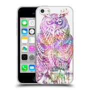 Official Bioworkz Coloured Aves 1 Great Horned Owl 1 Soft Gel Case For Apple Iphone 5C