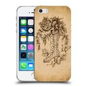 Official Brigid Ashwood Vintage Romance Velvet Blossoms Soft Gel Case For Apple Iphone 5 / 5S / Se
