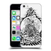 Official Bioworkz Ornate Howling Wolf Soft Gel Case For Apple Iphone 5C