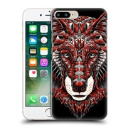 Official Bioworkz Coloured Animal Head 1 Wolf Head 1 Hard Back Case For Apple Iphone 7 Plus