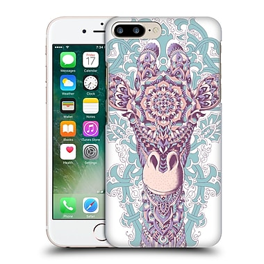 Official Bioworkz Coloured Animal Head 1 Giraffe Hard Back Case For Apple Iphone 7 Plus