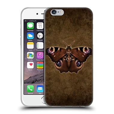 Official Brigid Ashwood Winged Things Steampunk Peacock Butterfly Soft Gel Case For Apple Iphone 6 / 6S