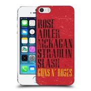 Official Guns N' Roses Vintage Names Hard Back Case For Apple Iphone 5 / 5S / Se