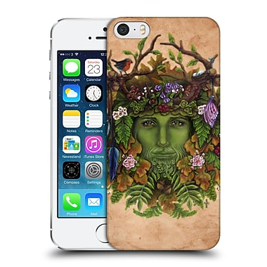 Official Brigid Ashwood Celtic Wisdom The Greenman Hard Back Case For Apple Iphone 5 / 5S / Se