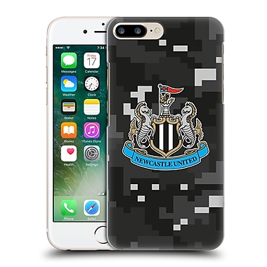 Official Newcastle United Fc Nufc 2016/17 Crest Kit Digital Camo Home Colours Hard Back Case For Apple Iphone 7 Plus