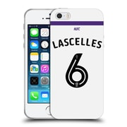 Official Newcastle United Fc Nufc 2016/17 Players Third Kit 1 Lascelles Soft Gel Case For Apple Iphone 5 / 5S / Se