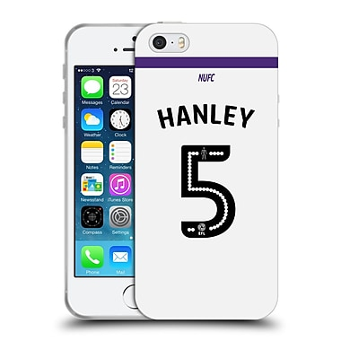 Official Newcastle United Fc Nufc 2016/17 Players Third Kit 1 Hanley Soft Gel Case For Apple Iphone 5 / 5S / Se