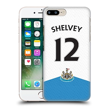 Official Newcastle United Fc Nufc 2015/16 Players Home Kit Jonjo Shelvey Hard Back Case For Apple Iphone 7 Plus