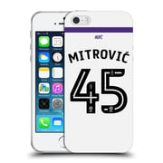 Official Newcastle United Fc Nufc 2016/17 Players Third Kit 1 Mitrovic Soft Gel Case For Apple Iphone 5 / 5S / Se