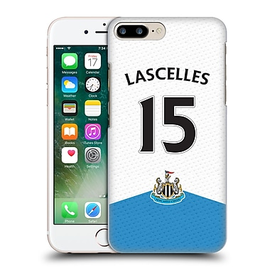 Official Newcastle United Fc Nufc 2015/16 Players Home Kit Jamaal Lascelles Hard Back Case For Apple Iphone 7 Plus