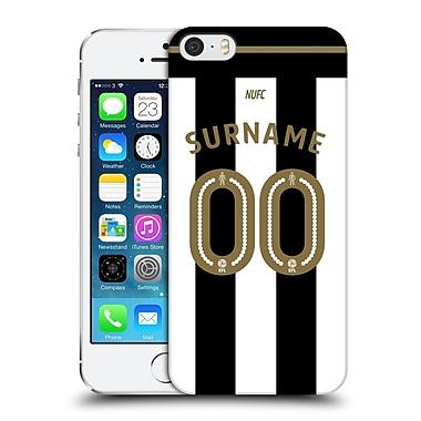 Custom Customised Personalised Newcastle United Fc Nufc 2016/17 Personalised Jersey Hard Back Case For Apple Iphone 5 / 5S / Se