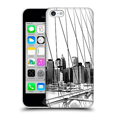 Official Haroulita Black And White New York 1 Hard Back Case For Apple Iphone 5C