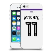 Official Newcastle United Fc Nufc 2016/17 Players Third Kit 1 Ritchie Soft Gel Case For Apple Iphone 5 / 5S / Se