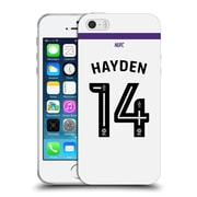 Official Newcastle United Fc Nufc 2016/17 Players Third Kit 2 Hayden Soft Gel Case For Apple Iphone 5 / 5S / Se