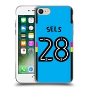 Official Newcastle United Fc Nufc 2016/17 Players Third Kit 1 Sels Soft Gel Case For Apple Iphone 7