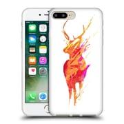 Official Robert Farkas Deer On The Road Again Soft Gel Case For Apple Iphone 7 Plus